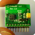 Wireless transceiver by EmbedRF